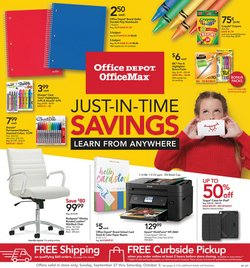 Electronics & Office Supplies offers in the Office Depot catalogue in Miami Beach FL ( 3 days ago )