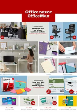 Office Depot catalogue in New York ( Expired )