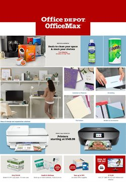 Office Depot catalogue ( 6 days left )