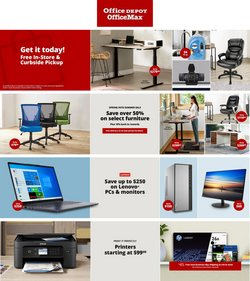 Office Depot catalog ( Published today)