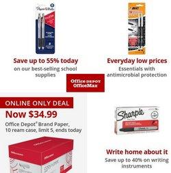 Electronics & Office Supplies deals in the Office Depot catalog ( Expires today)