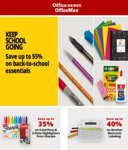 Electronics & Office Supplies deals in the Office Depot catalog ( 4 days left)