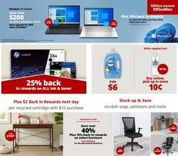 Electronics & Office Supplies deals in the Office Depot catalog ( 3 days left)