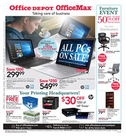 Electronics & Office Supplies deals in the Office Depot weekly ad in Bloomington IN