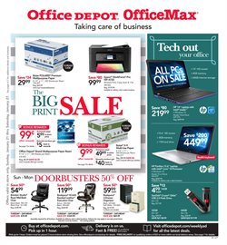 Office Depot deals in the New York weekly ad