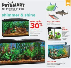Pet Smart deals in the Memphis TN weekly ad