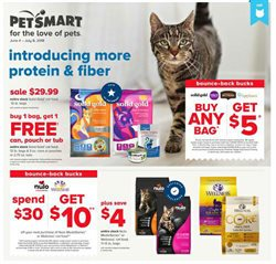 Pet Smart deals in the Tulsa OK weekly ad