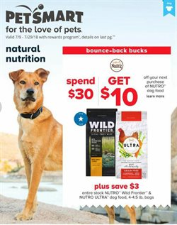 Pet Smart deals in the Houston TX weekly ad