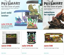 Water deals in the Pet Smart weekly ad in Muskegon MI