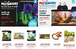 Animals deals in the Pet Smart weekly ad in New York