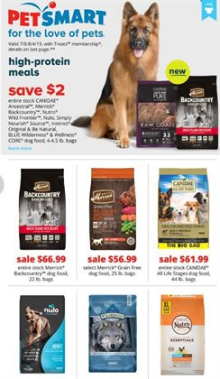 Pet Smart deals in the Van Nuys CA weekly ad