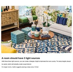 Lamp deals in the Home Goods weekly ad in New York