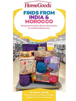 Home Goods deals in the Home Goods catalog ( 12 days left)