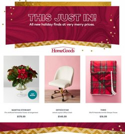 Home & Furniture deals in the Home Goods catalog ( Published today)