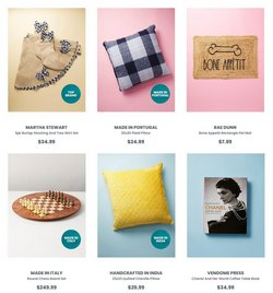 Chanel deals in the Home Goods catalog ( 11 days left)