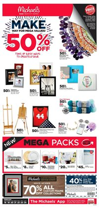 Gifts & Crafts deals in the Michaels weekly ad in Rapid City SD