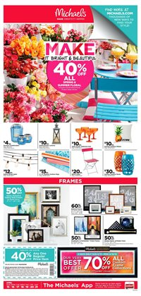 Gifts & Crafts deals in the Michaels weekly ad in Burbank CA