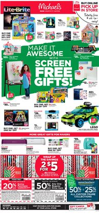 Michaels deals in the Commerce Township MI weekly ad