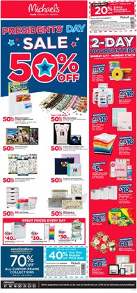 Gifts & Crafts deals in the Michaels weekly ad in Minneapolis MN