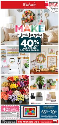 Gifts & Crafts deals in the Michaels weekly ad in Tucson AZ