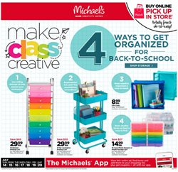 Gifts & Crafts deals in the Michaels weekly ad in Modesto CA