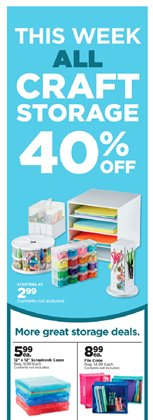 Gifts & Crafts deals in the Michaels weekly ad in Kennewick WA