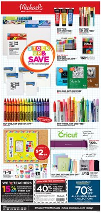 Gifts & Crafts deals in the Michaels weekly ad in Bristol CT