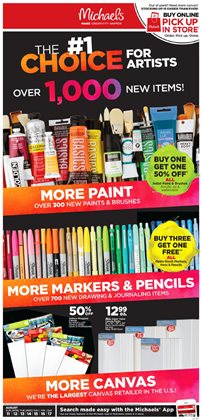 Gifts & Crafts deals in the Michaels weekly ad in Chicago IL