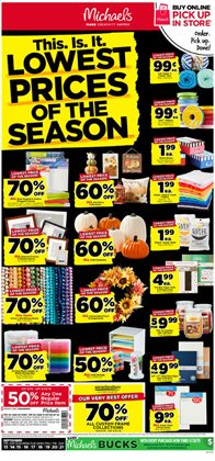 Gifts & Crafts deals in the Michaels weekly ad in Pontiac MI