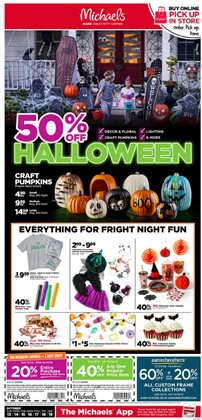 Gifts & Crafts deals in the Michaels weekly ad in Fullerton CA