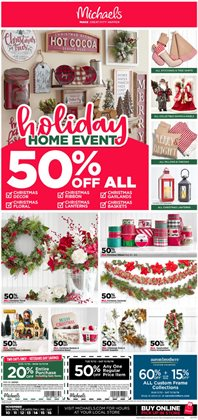 Gifts & Crafts deals in the Michaels weekly ad in Humble TX