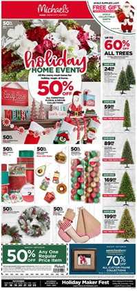 Gifts & Crafts deals in the Michaels weekly ad in San Francisco CA