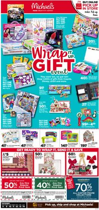 Gifts & Crafts deals in the Michaels weekly ad in Tracy CA