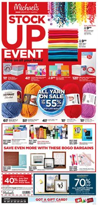 Gifts & Crafts deals in the Michaels weekly ad in New York