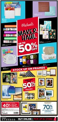 Gifts & Crafts offers in the Michaels catalogue in Newark NJ ( 2 days left )
