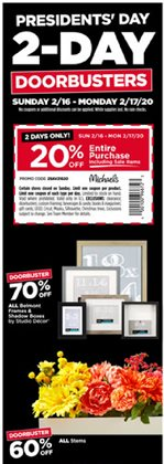 Gifts & Crafts offers in the Michaels catalogue in Pittsburgh PA ( Expires today )