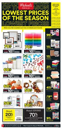 Gifts & Crafts offers in the Michaels catalogue in San Jose CA ( 3 days left )