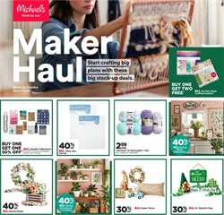 Gifts & Crafts offers in the Michaels catalogue in Bridgeport CT ( 2 days left )