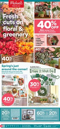 Gifts & Crafts offers in the Michaels catalogue in Dallas TX ( Expires today )