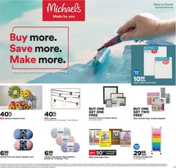 Gifts & Crafts offers in the Michaels catalogue in Los Angeles CA ( 1 day ago )