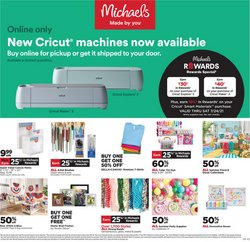 Gifts & Crafts deals in the Michaels catalog ( 3 days left)