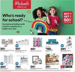 Michaels catalog ( 2 days left)