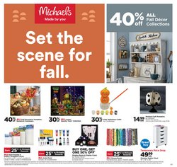 Gifts & Crafts deals in the Michaels catalog ( Expires today)