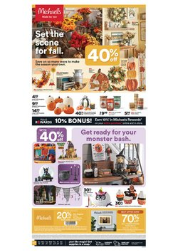 Gifts & Crafts deals in the Michaels catalog ( 2 days left)