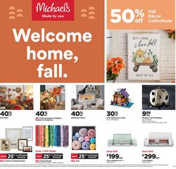 Gifts & Crafts deals in the Michaels catalog ( 4 days left)