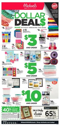 Michaels deals in the Phoenix AZ weekly ad