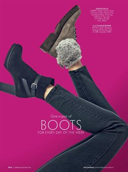 Boots deals in the Neiman Marcus weekly ad in Dallas TX