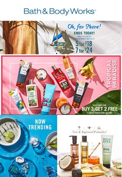 Beauty & Personal Care deals in the Bath & Body Works weekly ad in Monterey Park CA