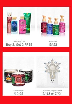 Soap deals in the Bath & Body Works weekly ad in Vacaville CA