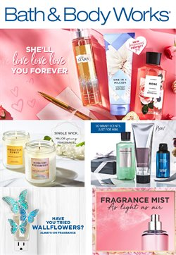 Beauty & Personal Care deals in the Bath & Body Works weekly ad in Livonia MI